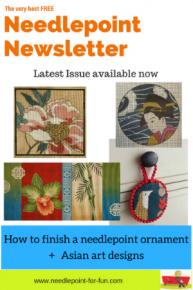 needlepoint newsletter