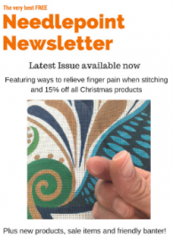 needlepoint newsletter the best late march