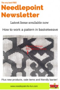 needlepoint newsletter blog