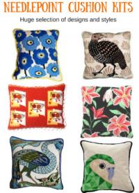 needlepoint cushion kits