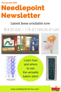 needlepoint for fun newsletter
