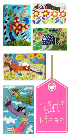 needlepoint gift ideas jennifer pudney small tapestry kits