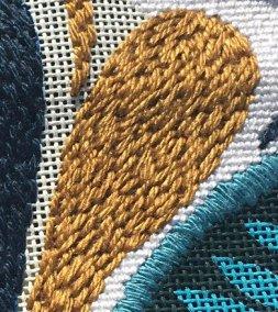 needlepoint random stitch