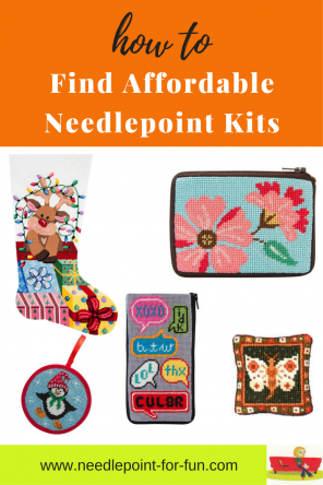 affordable needlepoint kits