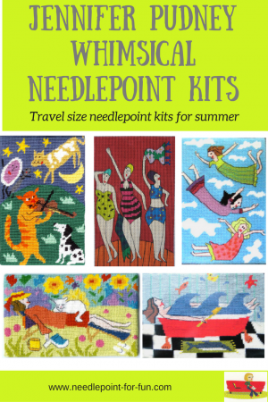 New Charley Harper needlepoint designs