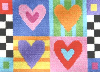 affordable needlepoint kit canoodles
