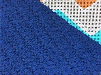 needlepoint swirl stitch how to