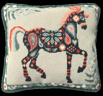 one off needlework pillow kit needlepoint