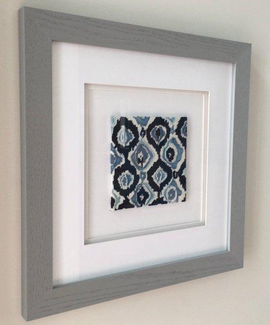 ikat needlepoint wall art stitch guide