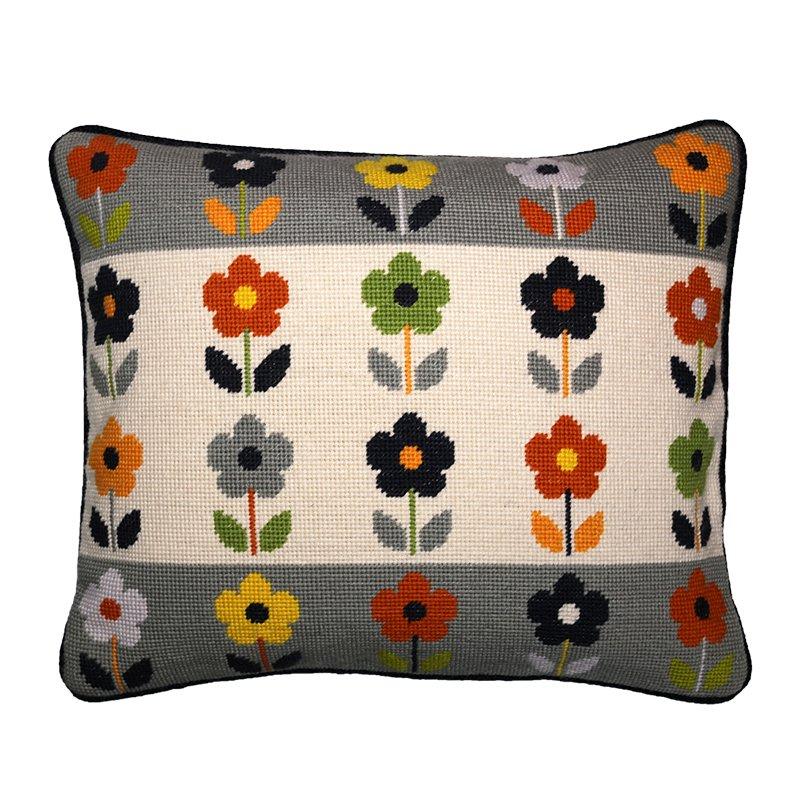 Modern Needlepoint Pillow Kits