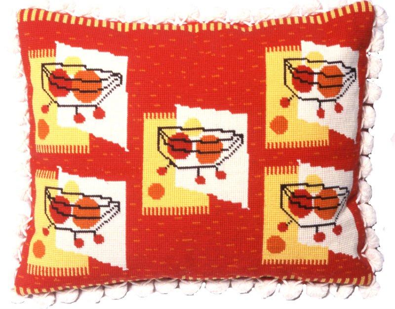 Modern Needlepoint Pillow Kits : Modern Needlepoint Pillow Kits