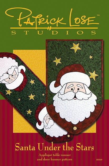 Santa Under the Stars digital pattern