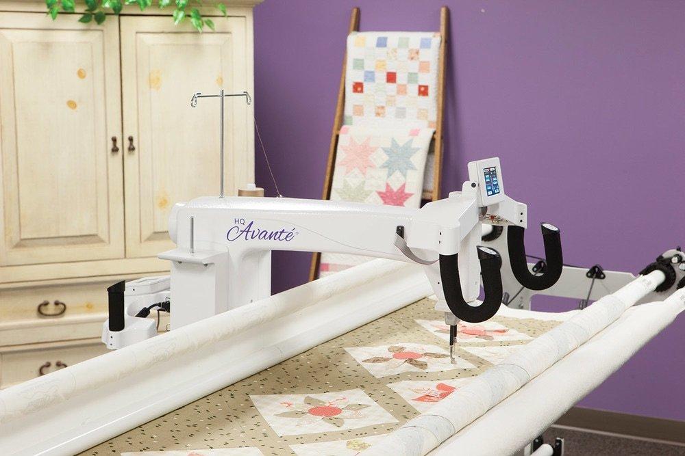 arm quilting machine rental