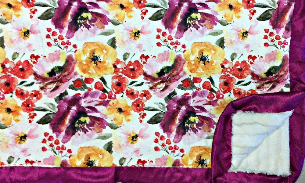 Floral Fest GOLD-Creme Brulee-Violet