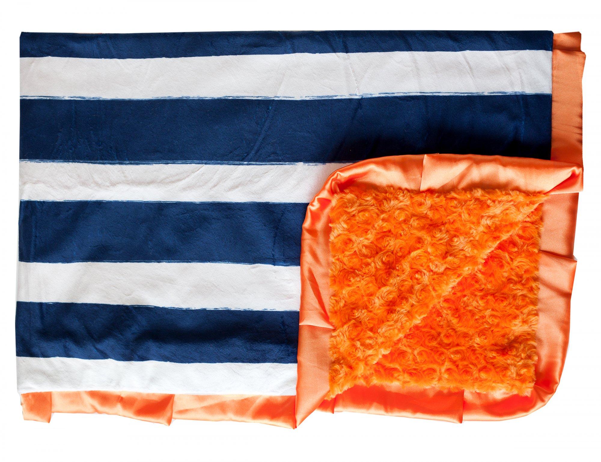 Rugby Navy w/Orange-Orange-Orange