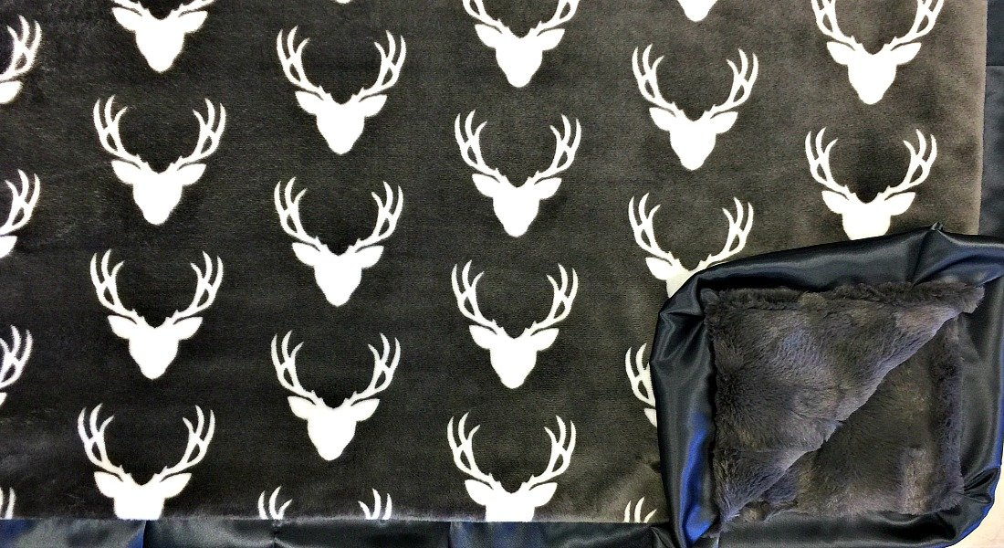 Oh Deer Charcoal-Sorbet Charcoal-Charcoal