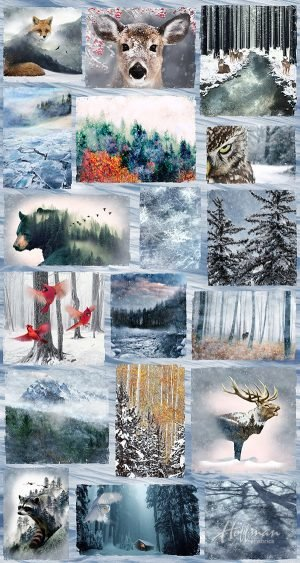 Frost Animal Panel P4354 113