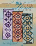 judy niemeyer the cactus flower tablerunner pattern