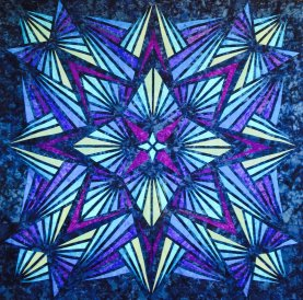 Crystal Blue Quilt