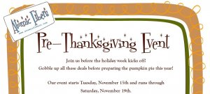 Pre-Thanksgiving Event