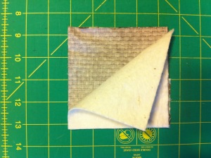 sandwich your quilt layers