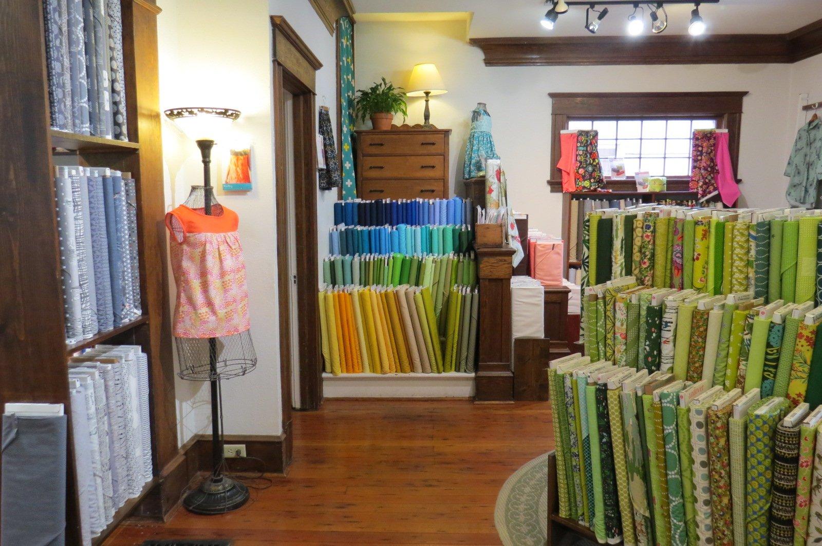 portland oregon quilt shop photos
