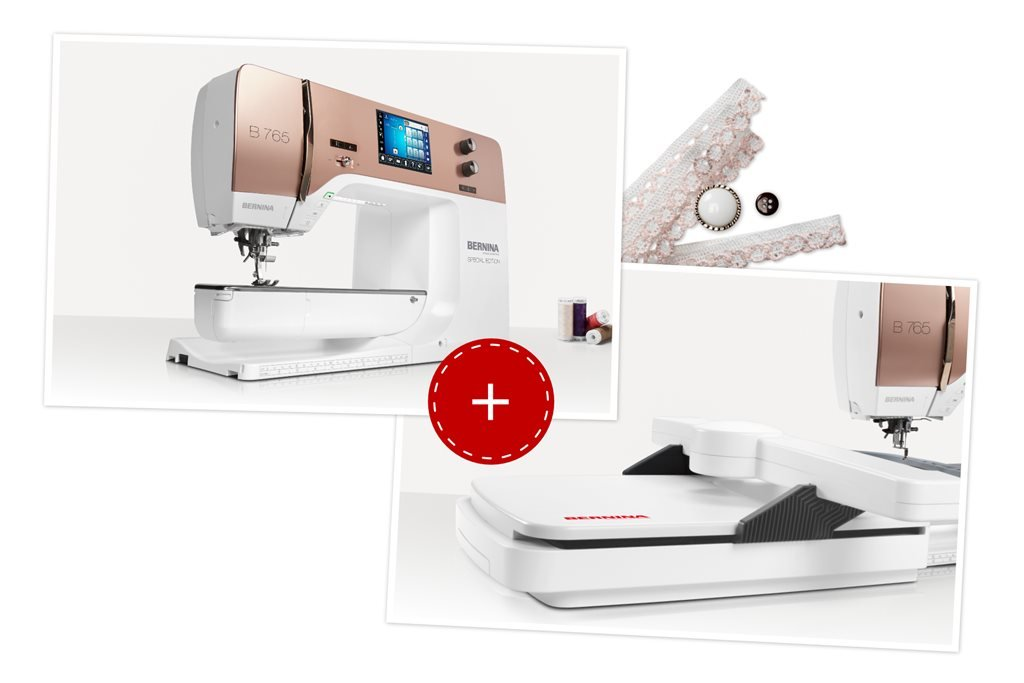 Bernina 765 limited edition, rose gold