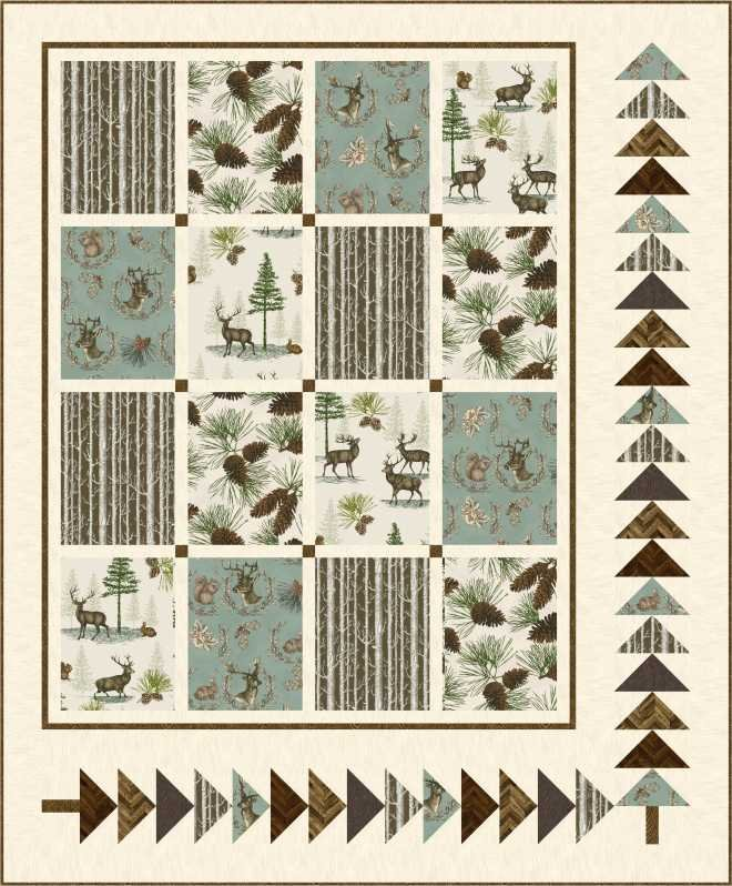 Rustic Refined quilt kit