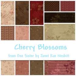 Cherry Blossoms Fat Quarter Pack