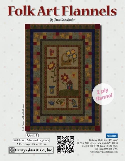 Folk Art Flannel Project 1 Kit