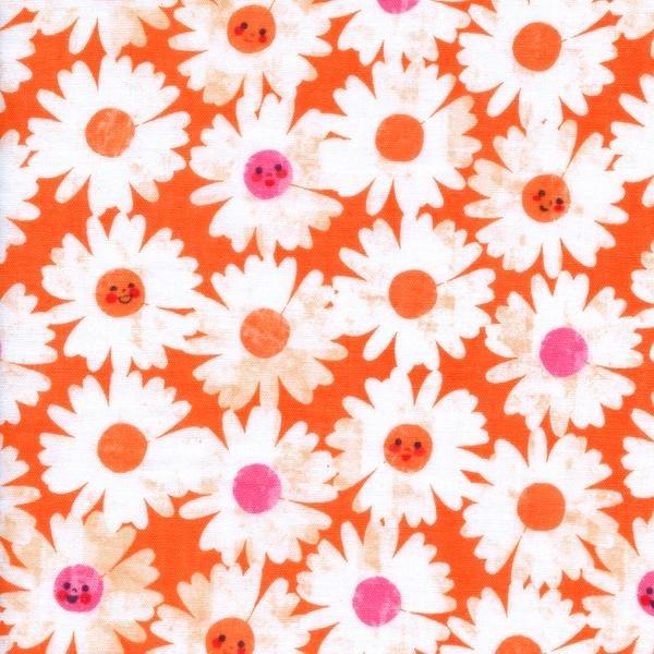 Trinket -Happy Garden -Double Gauze -Orange