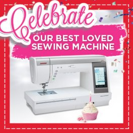 Janome Celebration Sale