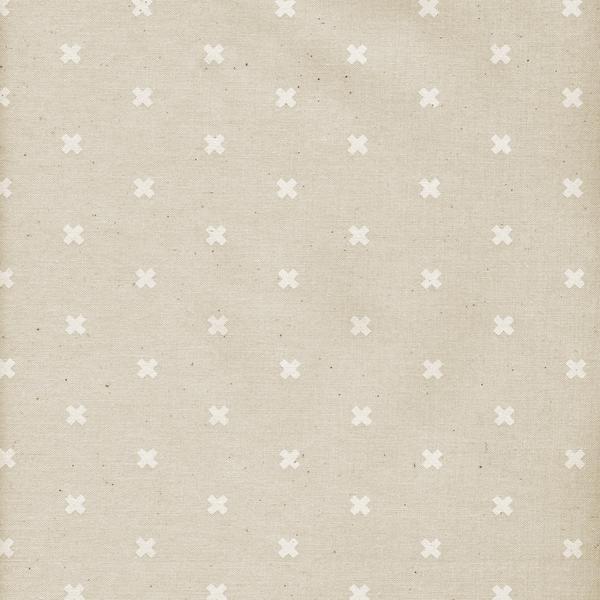 Cotton + Steel Basics -XOXO -Natural