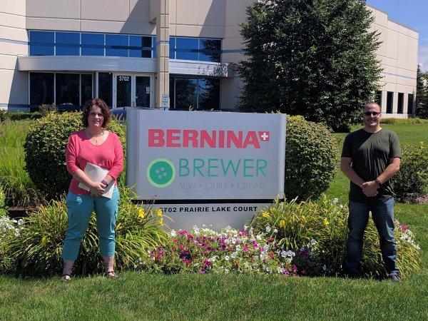 Mindy and Steve at Bernina