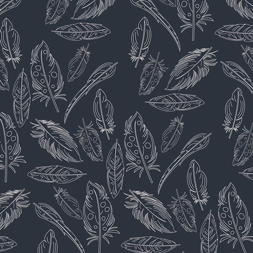 Petal & Plume -Panache -Profundo -Knit