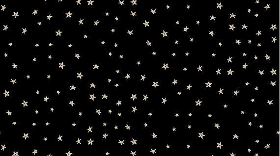 Stars - Knit - Black