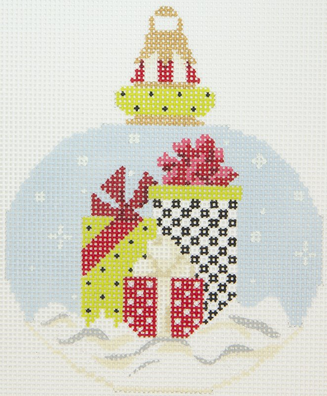 KANP11 Gifts in Snow Ornament