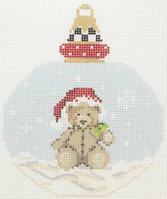 KANP12 Santa Hat Teddy Bear