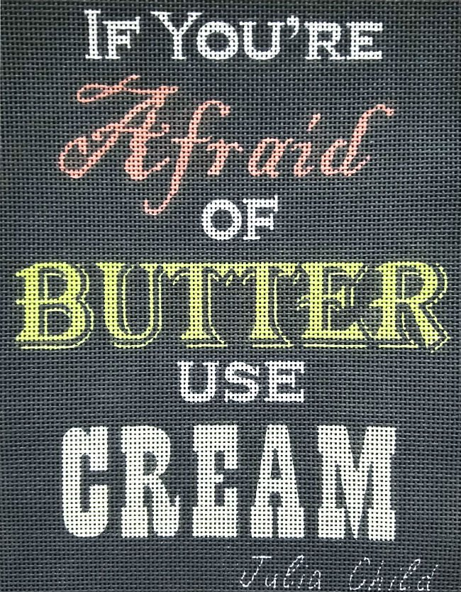 If You're Afraid Of Butter Use Cream #2