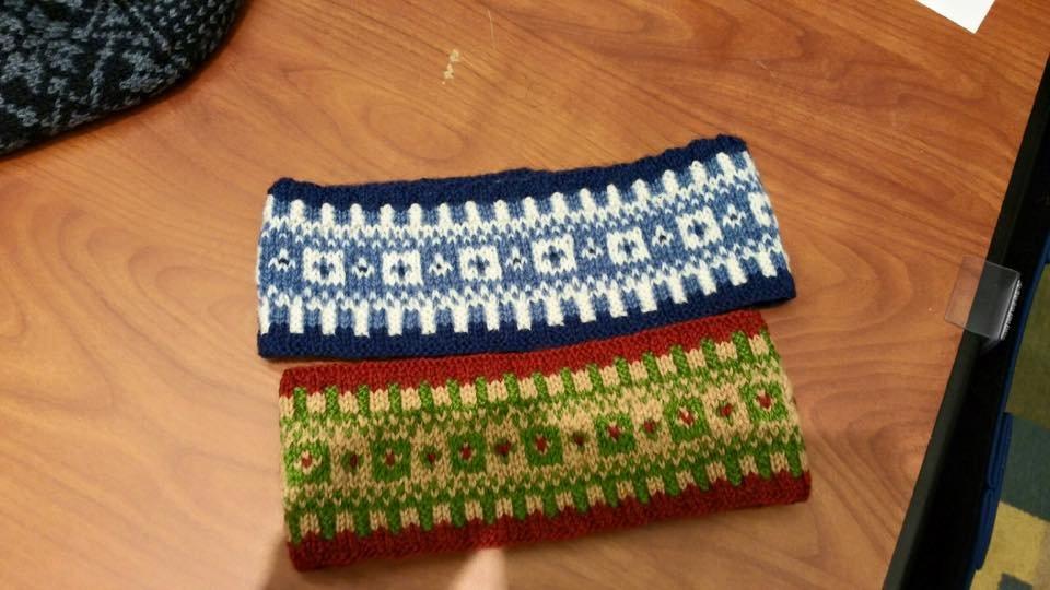 Knitting Technique Series - Fair Isle Head Band
