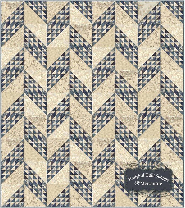 Blue Barn Sugar Pine Quilt Kit