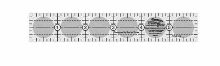 Creative Grid Ruler 1x6
