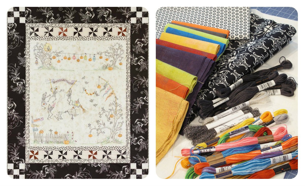 Dance By The Light Of The Moon Quilt Kit