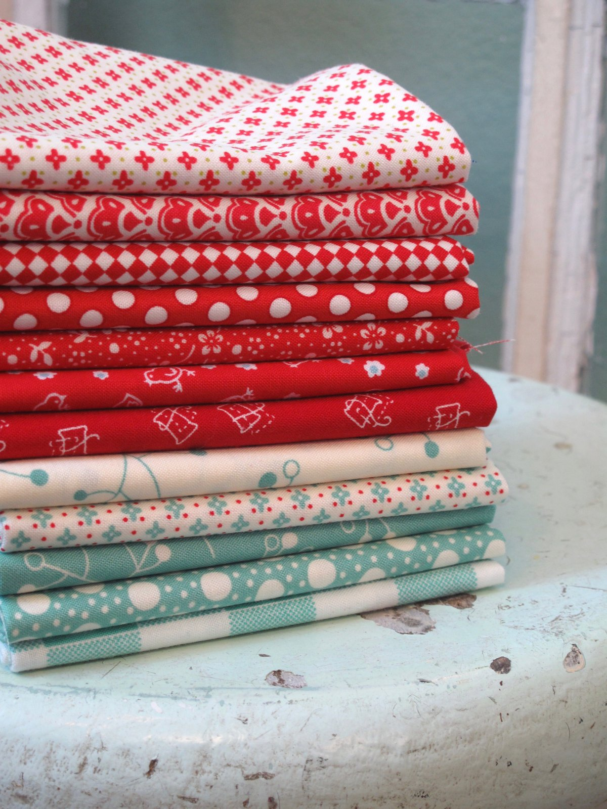 Happy 4th Vintage 12 Fat Quarter Bundle