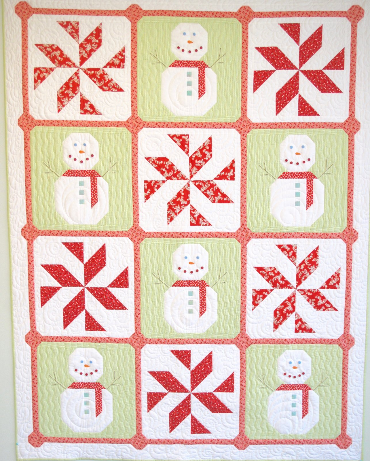 Let It Snow Quilt Kit