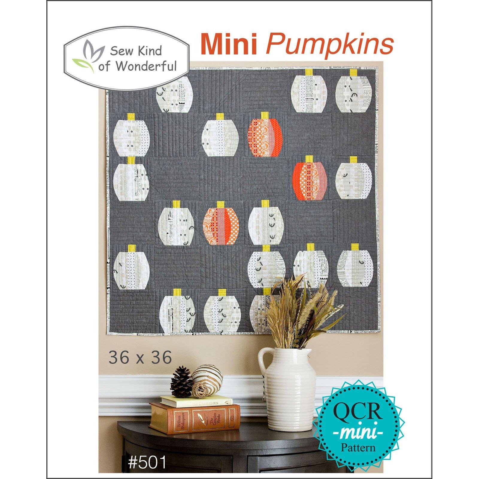 Mini Pumpkins Pattern - Sew Kind of Wonderful