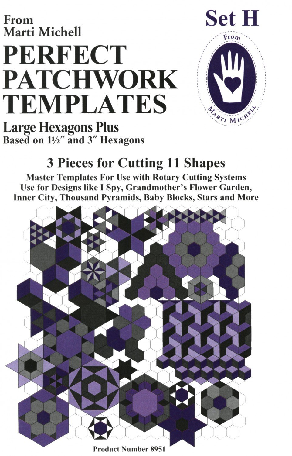 Perfect Patchwork Template Set H