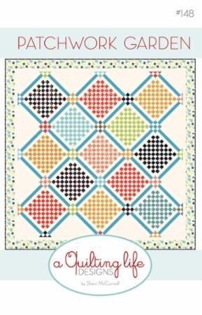 Patchwork Garden Pattern - A Quilting Life Design