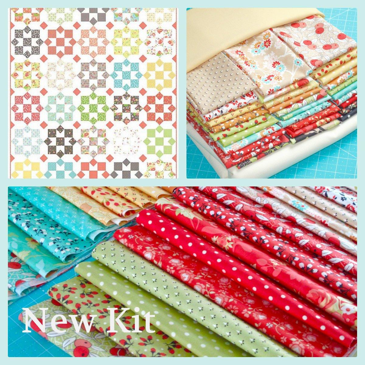 Sunny Chestnut Street Quilt Kit
