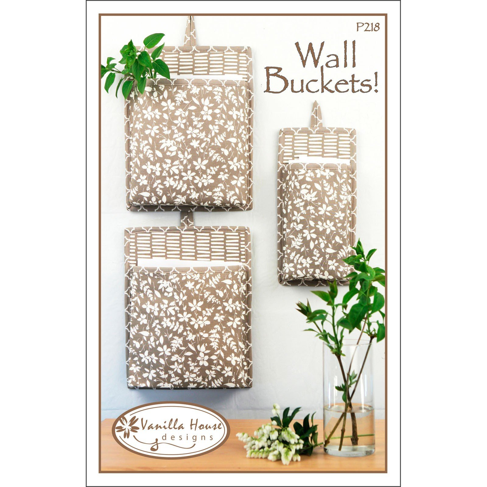 Wall Buckets! Pattern